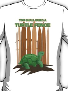 Turtle Fence T-Shirt