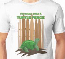 Turtle Fence Unisex T-Shirt
