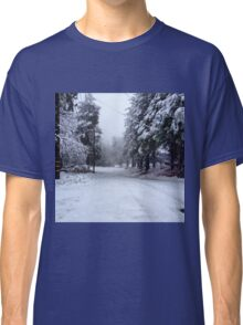 A Snowy Slope Classic T-Shirt