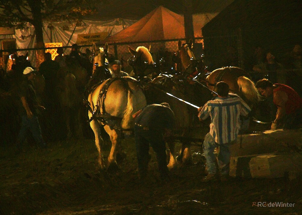 The Night Pull No. 1 by RC deWinter