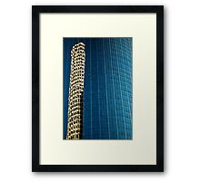 Reflected Building Framed Print