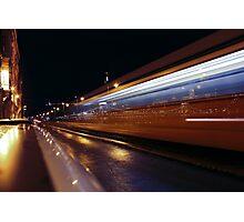 Budapest by Night, HUNGARY Photographic Print