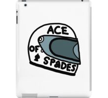 Ace of Spades helmet iPad Case/Skin