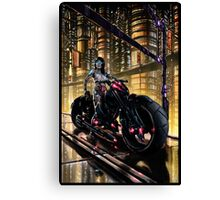Cyberpunk Painting 062 Canvas Print