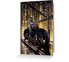 Cyberpunk Painting 062 Greeting Card