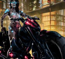 Cyberpunk Painting 062 Sticker