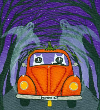 A Spooky Drive Sticker