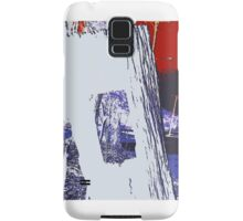Red and Blue, the colonial boundaries abound Samsung Galaxy Case/Skin