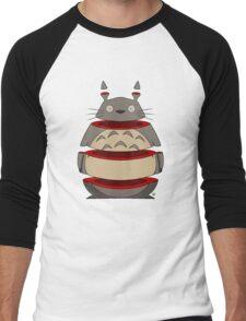 Sliced Totoro Men's Baseball ¾ T-Shirt