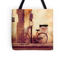 Bicycle red Tote Bag