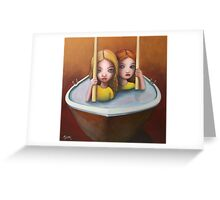 The trouble with water ll Greeting Card