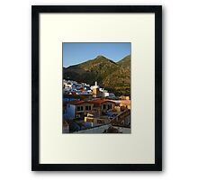 Tranquil Chefchaouen, Morocco 2015 Framed Print