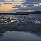 The Loughor Estuary, Llanelli by RedHillDigital