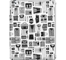 Travel Essentials Pattern iPad Case/Skin