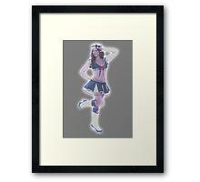 Holographic sailor Framed Print