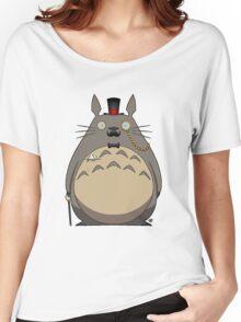 Gentleman Totoro Women's Relaxed Fit T-Shirt