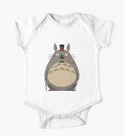 Gentleman Totoro One Piece - Short Sleeve
