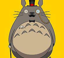 Gentleman Totoro by crabro