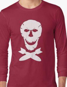 B-24 Jolly Roger Squadron Emblem Long Sleeve T-Shirt