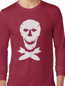 B-24 Jolly Roger Squadron Emblem Long Sleeve T-Shirt