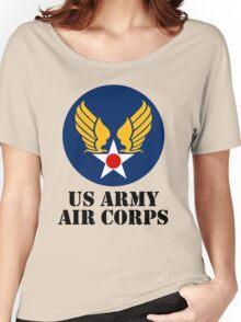USAAC. Emblem Reproduction #1 Women's Relaxed Fit T-Shirt