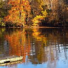 Dock on the Rondout Creek by Rusty Katchmer