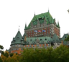 Fairmont Le Chateau Frontenac by Laurel Talabere