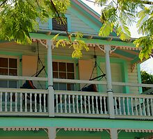 Hammock time in Key West Florida by Susanne Van Hulst