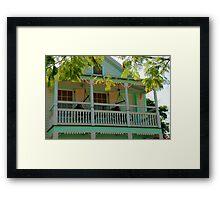 Hammock time in Key West Florida Framed Print