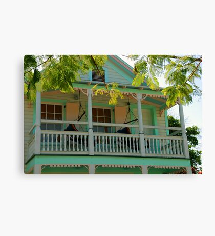Hammock time in Key West Florida Canvas Print