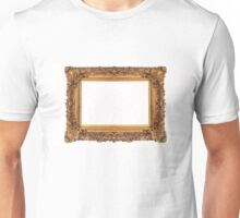 Baroque Golden Frame Unisex T-Shirt
