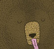 Grizzly Bear Dreams Sticker