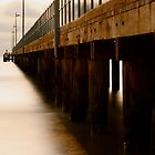 Pier Before Dusk - Jo Hall by BVCC