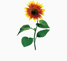 The Dancing Sunflower Womens Fitted T-Shirt