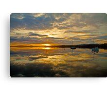 Sunrise Boomer Bay, Tasmania Canvas Print