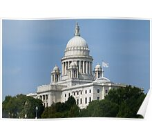 Rhode Island State House Poster