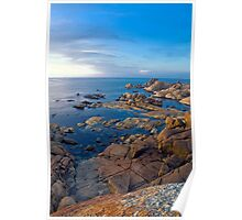 Conical Rocks Tasmania Poster