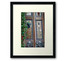 An Entrance to Remember Framed Print