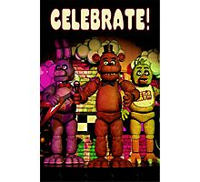 Fnaf 1 office poster. Photographic Print