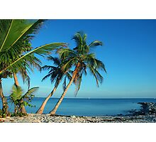The Blue Lagoon, Key West, FL Photographic Print