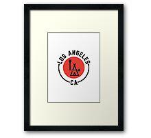 LA - Los Angeles Framed Print