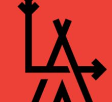 LA - Los Angeles Sticker