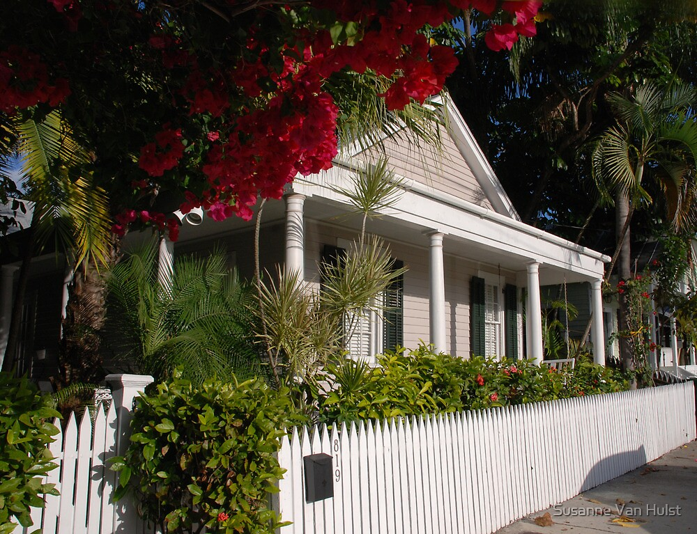 A Conch House in Key West, Florida by Susanne Van Hulst