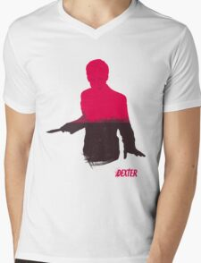The Dark Passenger Mens V-Neck T-Shirt