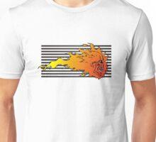 Flaming Skull looks cool Unisex T-Shirt