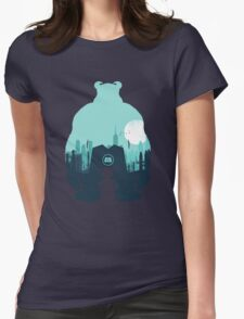 Welcome To Monsters, Inc. Womens Fitted T-Shirt
