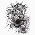 Lion Art by Create or Die Designs