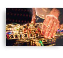 DJ in the Club Metal Print