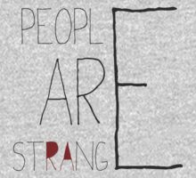 People are strange One Piece - Short Sleeve