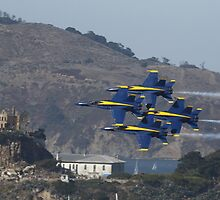 Delta Formation over Alcatraz by fototaker